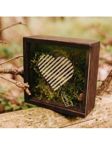 Pudełko na pendrive - Serce