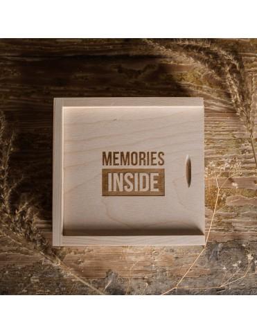 Pudełko na pendrive - memories