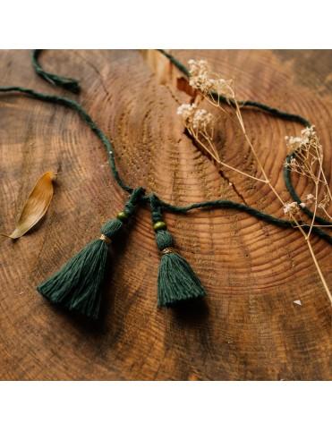 Bawełniany sznurek z chwostami