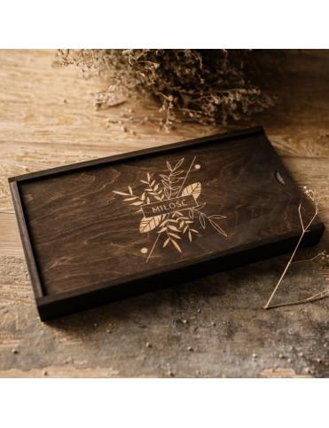 Drewniane pudełko 50...